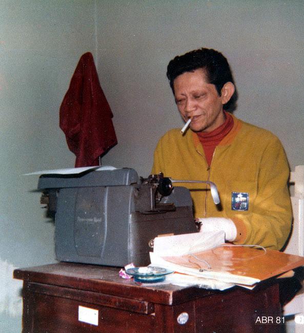 Datilografando na SORRI (1981)