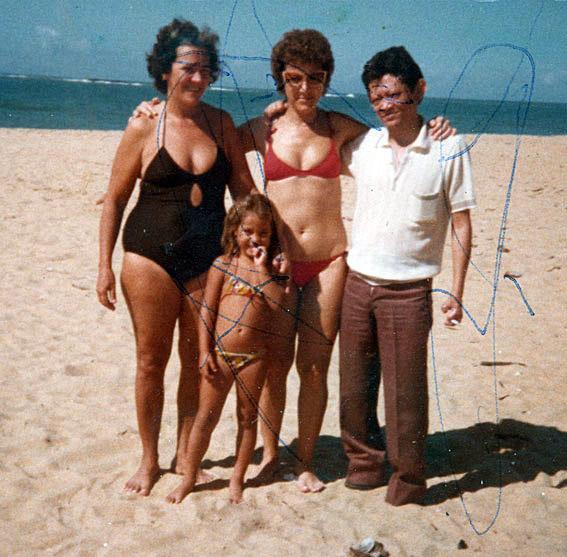 Com amigos em Salvador (1983)