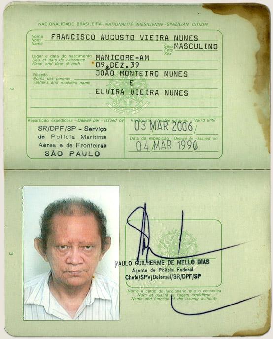 Passaporte (1996)
