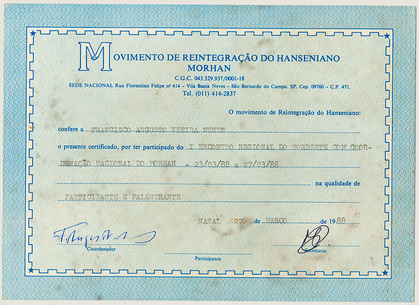 I Encontro Regional Nordeste Morhan (1988)