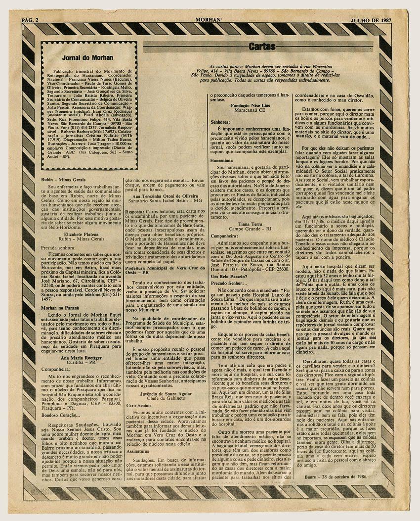 Morhan: Jornal do Morhan número 12
