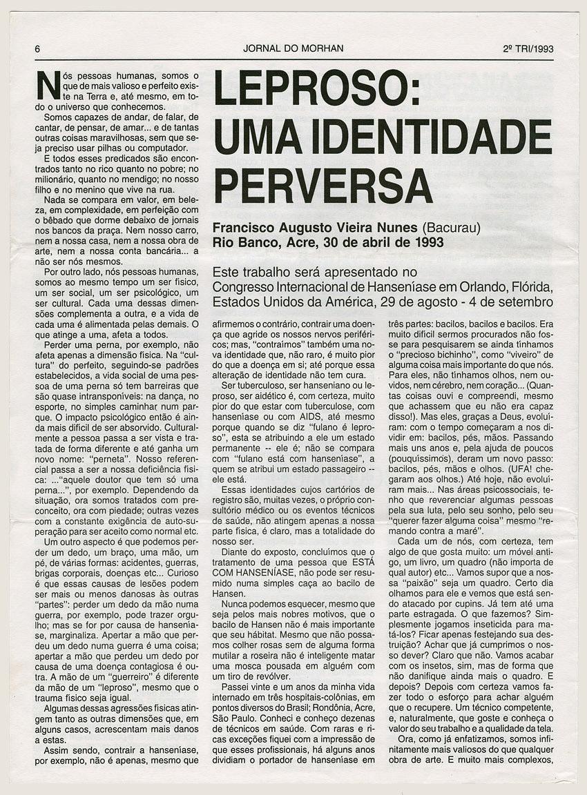 Morhan: Jornal do Morhan número 20
