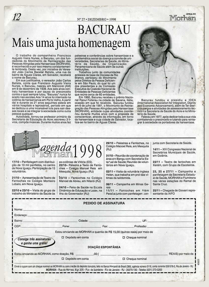 Morhan: Jornal do Morhan número 27