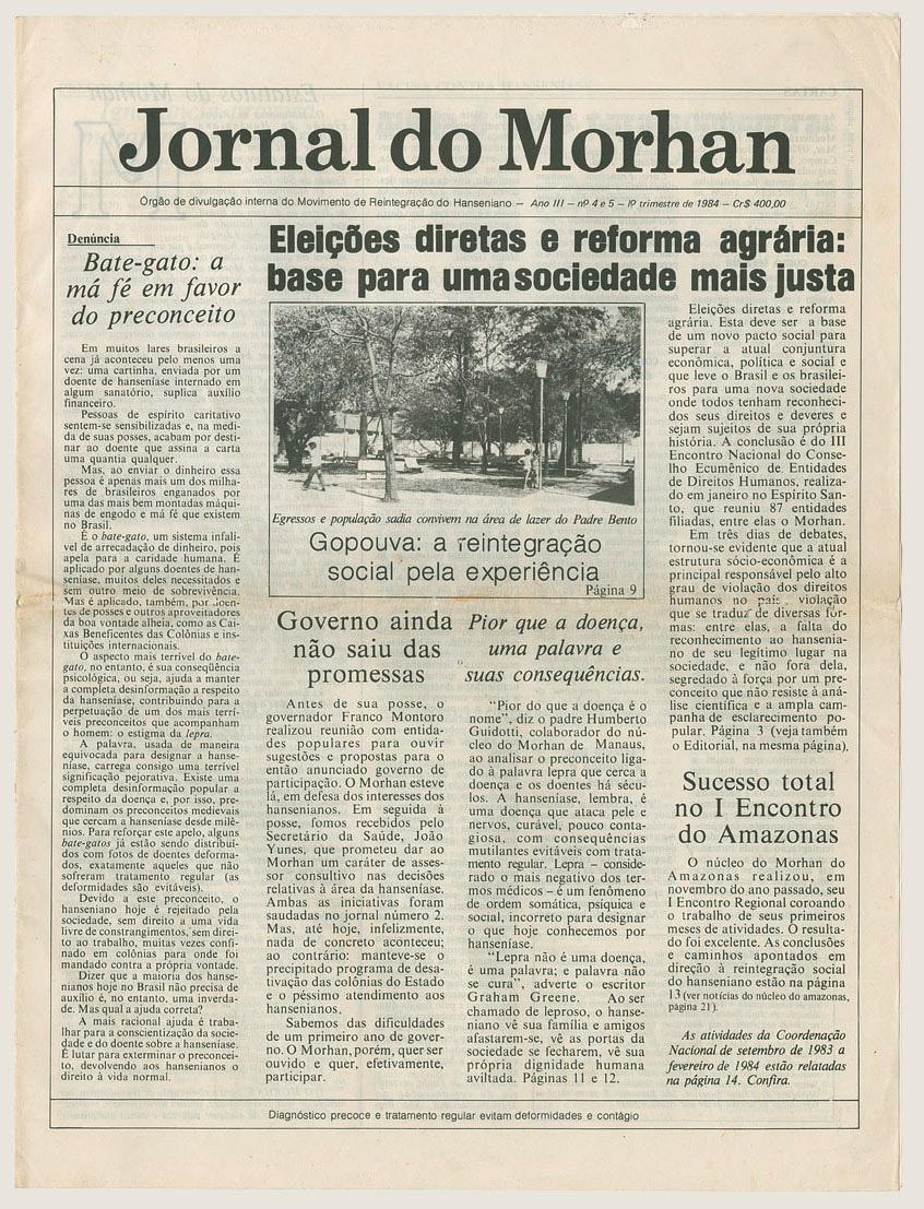 Morhan: Jornal do Morhan número 4 e 5
