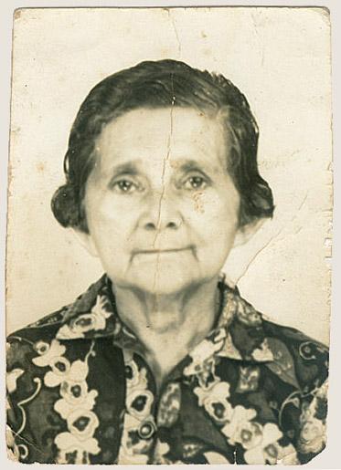 Elvira Vieira Nunes, mãe do Bacurau