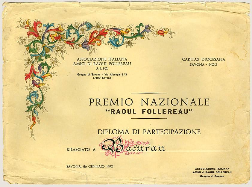 Prêmio Nacional Raoul Follereau (1990)