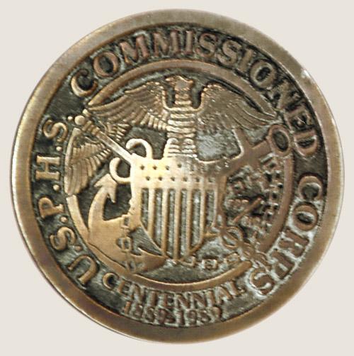 Medalha recebida nos Estados Unidos