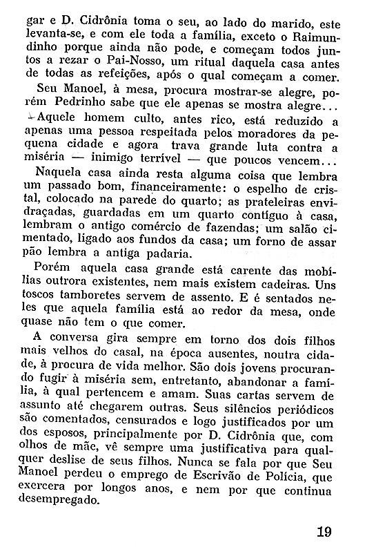 Livros publicados: A margem da vida (1978)