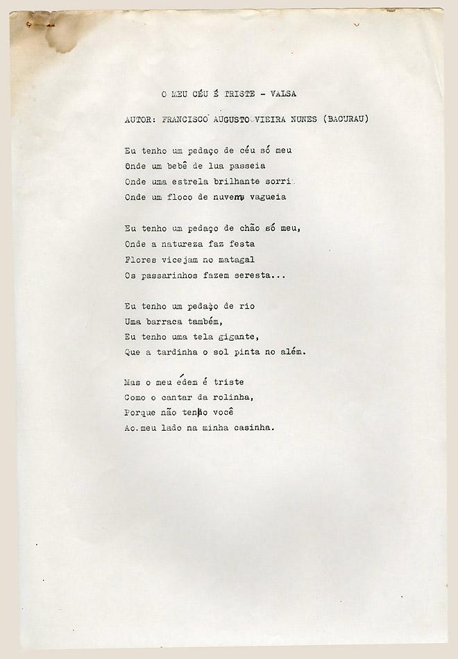 Poesias Avulsas