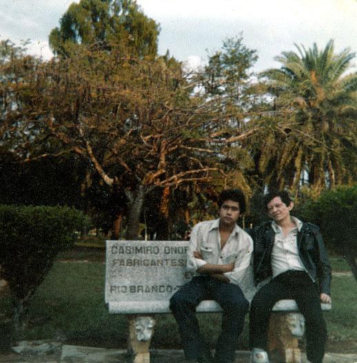 Bacurau e um amigo na SORRI (1980)