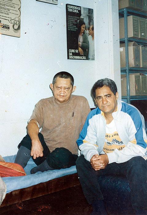 Com Reinaldo do Morhan (1996)