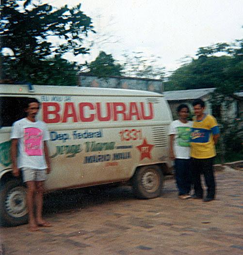 Kombi utilizada durante campanha (1990)