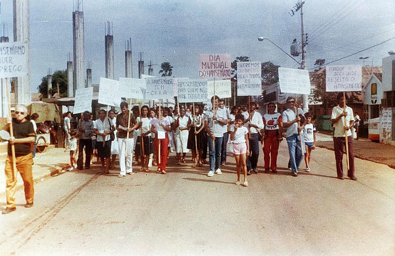 Passeata em Rio Branco (anos 80)