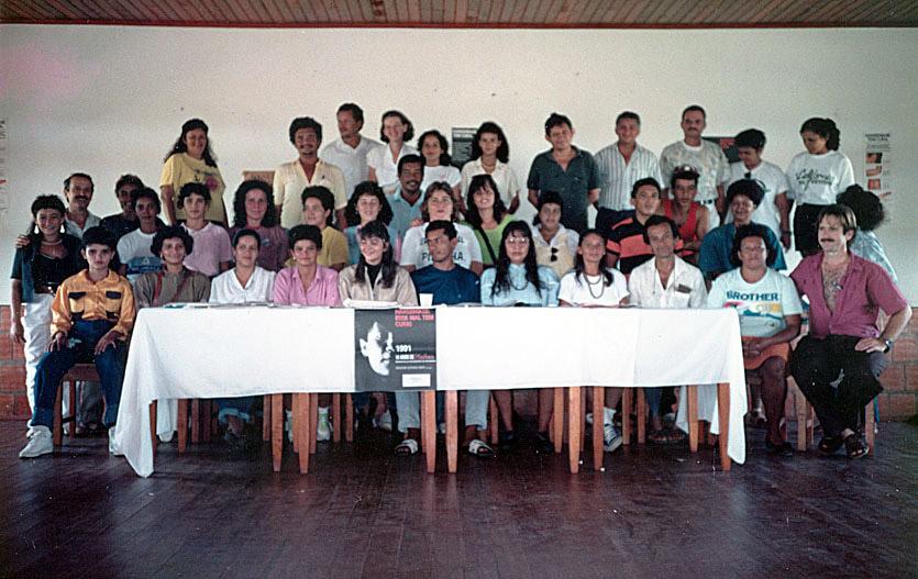 Reunião no Morhan de Rio Branco (1991)