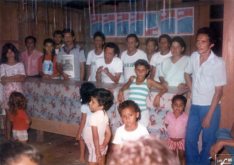 Fundação de um Núcleo do Morhan (1986)