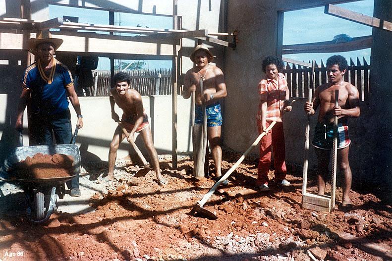 Construção da sede do Morhan em Rio Branco
