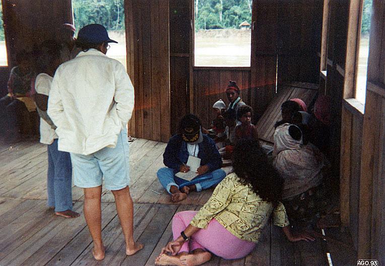 Reunião no Seringal Catuaba