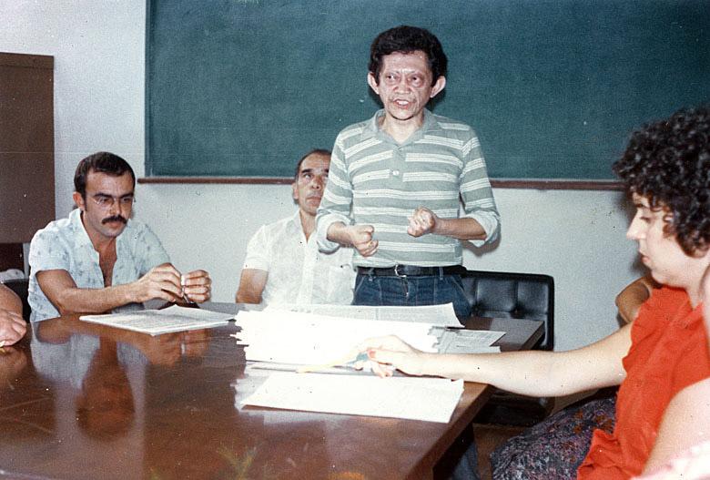 Reunião no colégio Humaitá (Amazonas) (1989)
