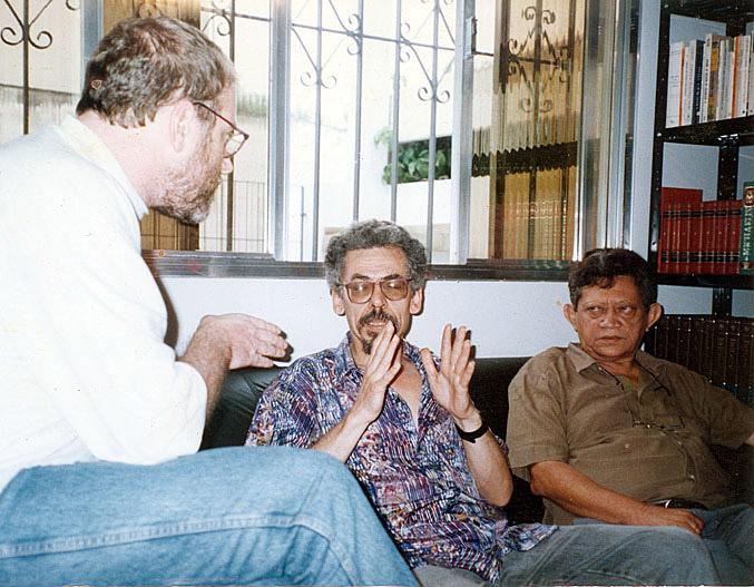 Bacurau e José Ruben em São Paulo (1982)