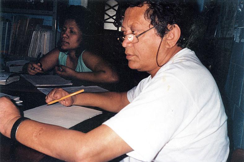 Reunião na prefeitura de Rio Branco (anos 90)