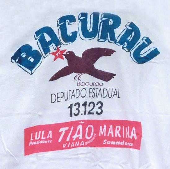 Camiseta da campanha a deputado estadual