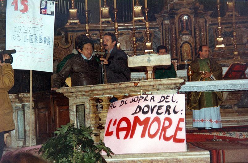 Missa em Roma, Itália (1990)
