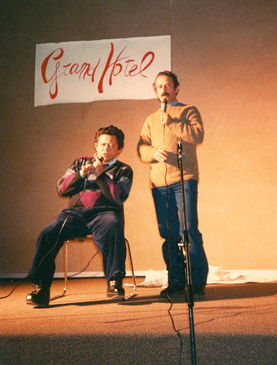 Palestra na cidade de Arezzo, Itália (1990)
