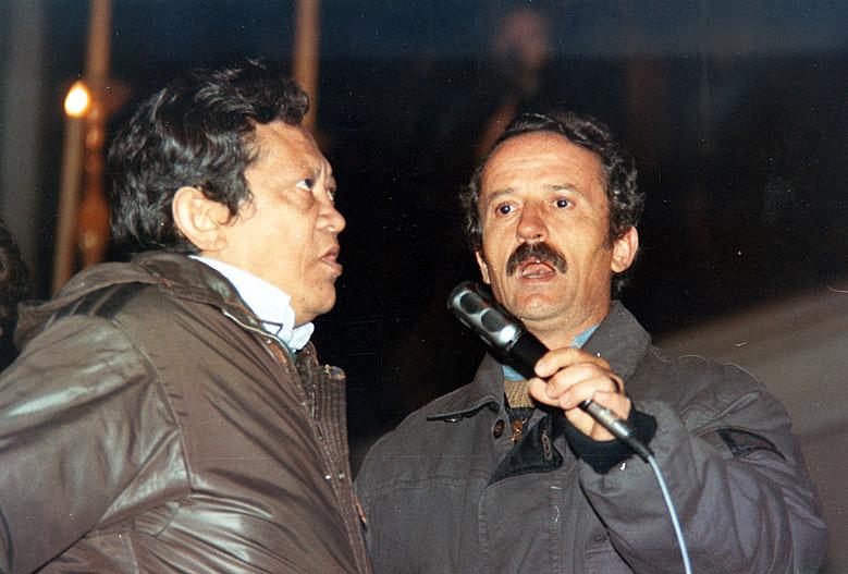 Bacurau e Roberto Santi (1990)