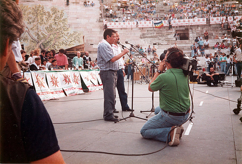 Em anfiteatro na Itália (1990)