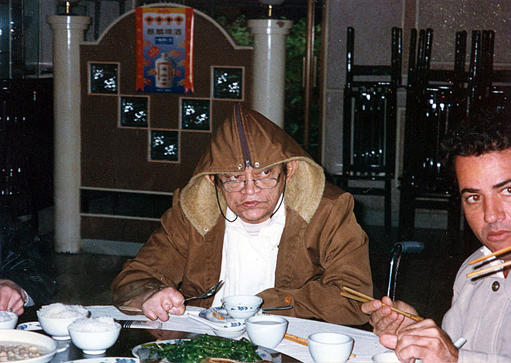 Bacurau e Eduardo Rabelo na China (1996)