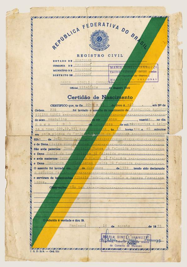 Certidão de Nascimento (1973)